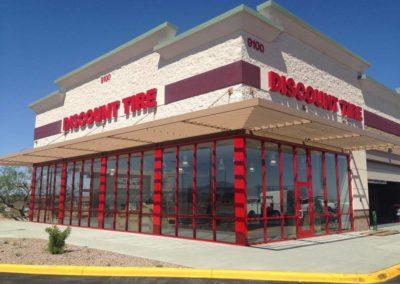 Tucson Discount Tire Glass